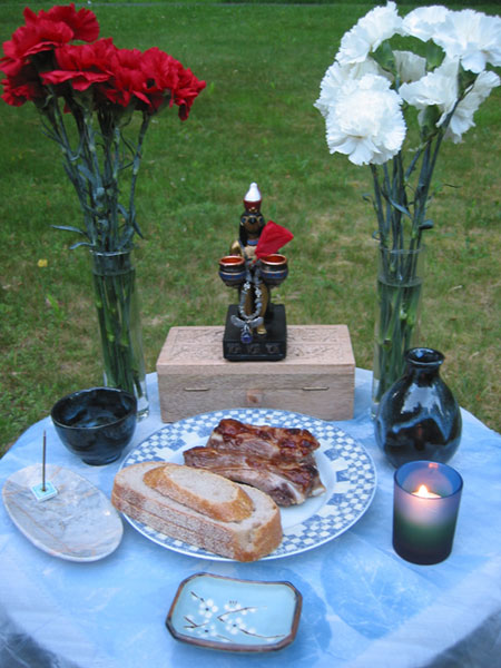 Memorial Day shrine