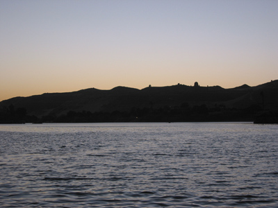 Nile at twilight