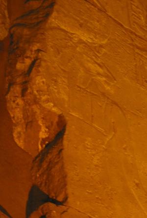 Lion goddess at Luxor