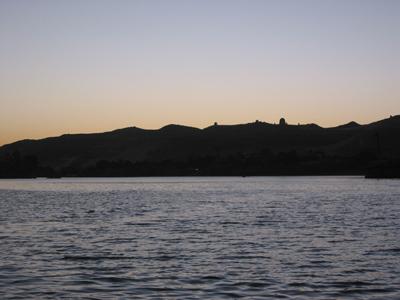 Nile at twilight