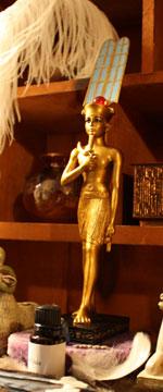 Amun-Ra statue